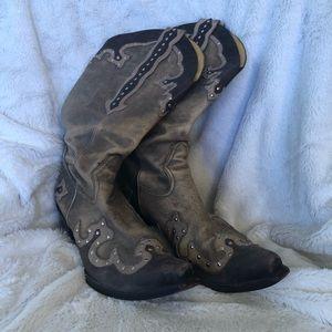 Gianni Bini Cowboy Boots